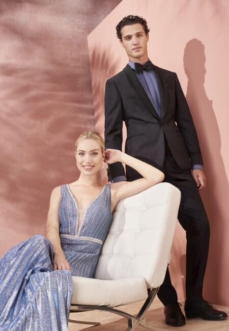 Anzug, Bräutigam, Braut, Abendkleid,Kuhn Maßkonfektion