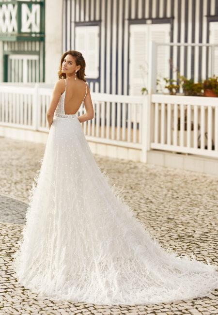 Rosa Clará Soft, Brautkleid, Hochzeitskleid