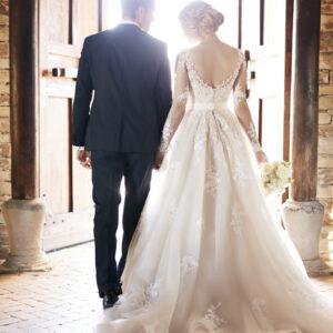Stella York, Hochzeitskleid, Spitze, Brautkleid mit Ärmel