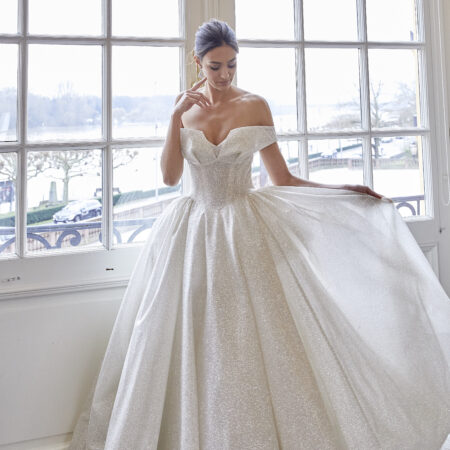 Prinzessinnenkleid, Brautkleid, Lisa Donetti Brautkleid