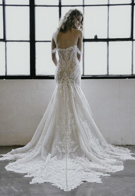 Brautmode, Hochzeitskleid, rückenfreies Brautkleid, Brautmodenkollektion Demetrios