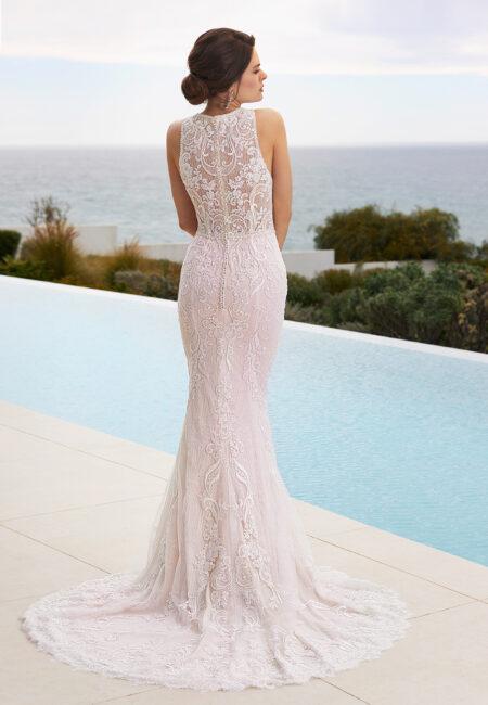 Brautkleider, Trés Chic, Rückenausschnitt, Braut