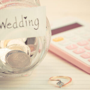 Finanzen, Taschenrechner pink, Geld, Hochzeit